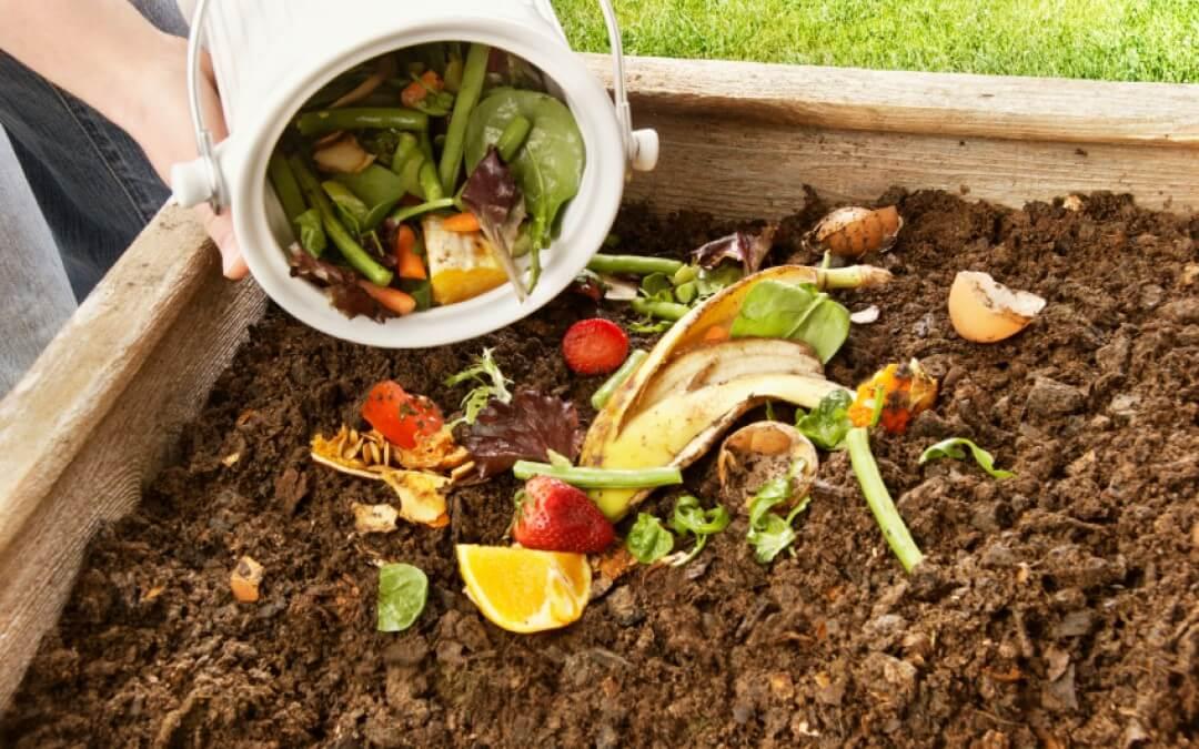 Groentetuin: zelf compost maken
