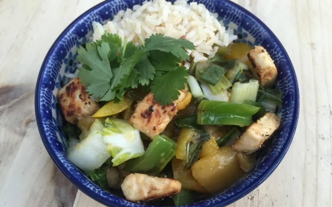 Aziatische Keuken: oneindig wokken + paksoi recept