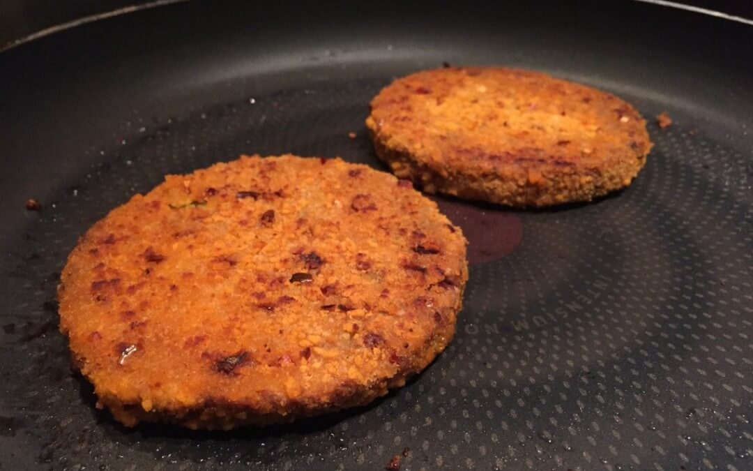 Spicy Bean burger Vivera