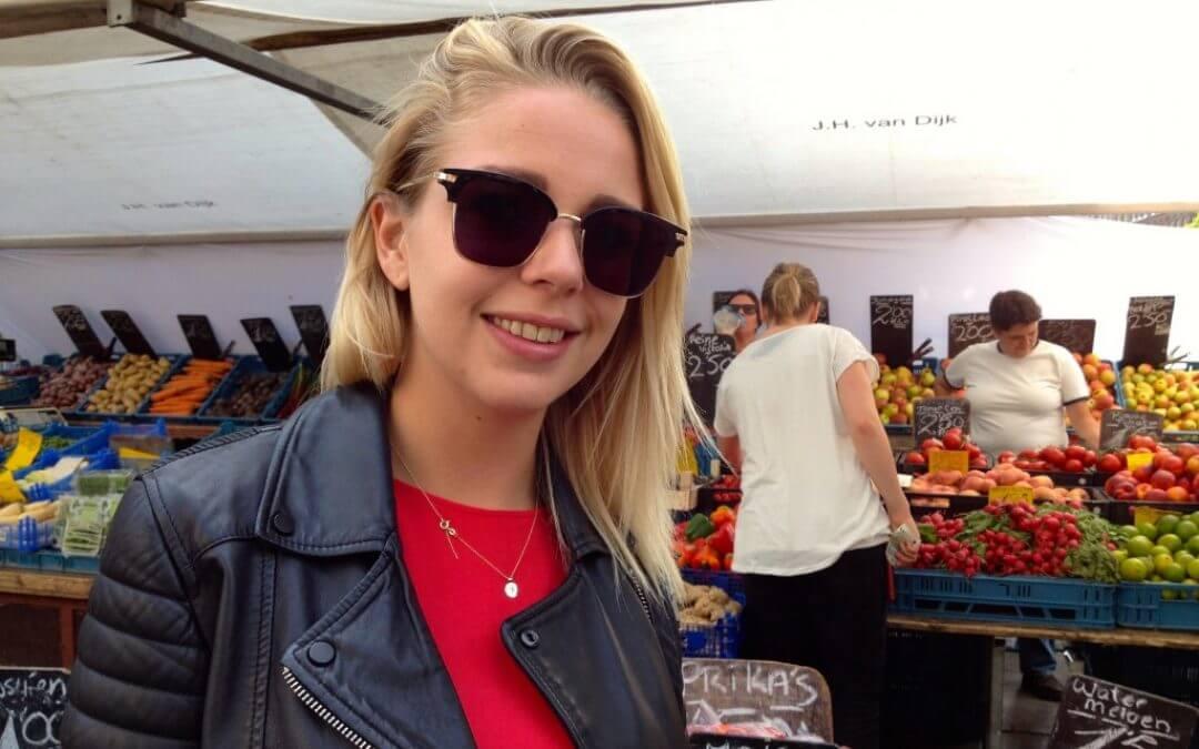 Straatinterview: Eva over vegetarisch eten