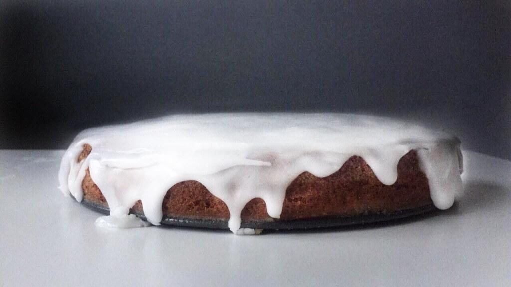 Kerstmenu: olijfolie cake met glazuur