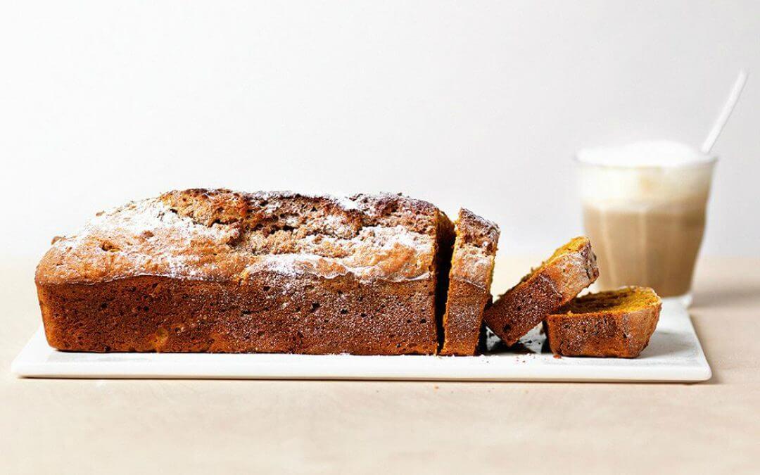 Zoete aardappelcake